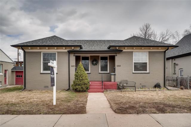 1650 S Sherman Street, Denver, CO 80210 (#4995879) :: Bring Home Denver