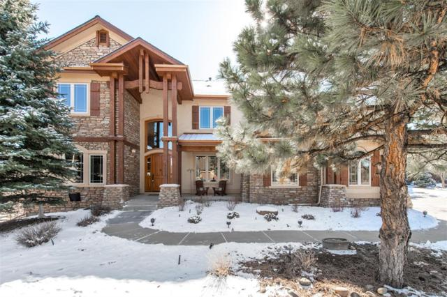 9038 Rambling Oak Place, Parker, CO 80134 (#4996491) :: The Pete Cook Home Group