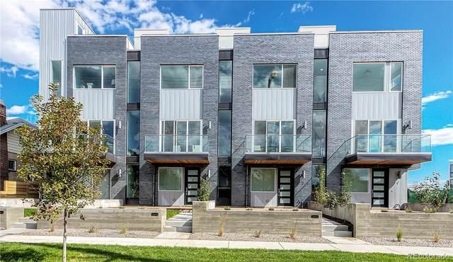 1628 Irving Street #4, Denver, CO 80204 (#4999139) :: Bring Home Denver with Keller Williams Downtown Realty LLC