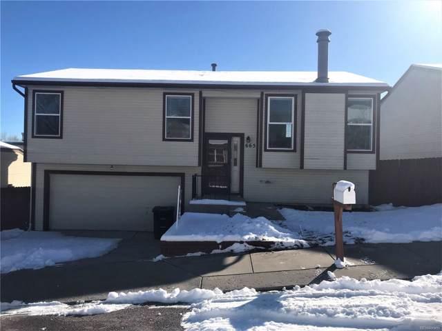 665 Prestonwood Drive, Colorado Springs, CO 80907 (MLS #5001327) :: 8z Real Estate