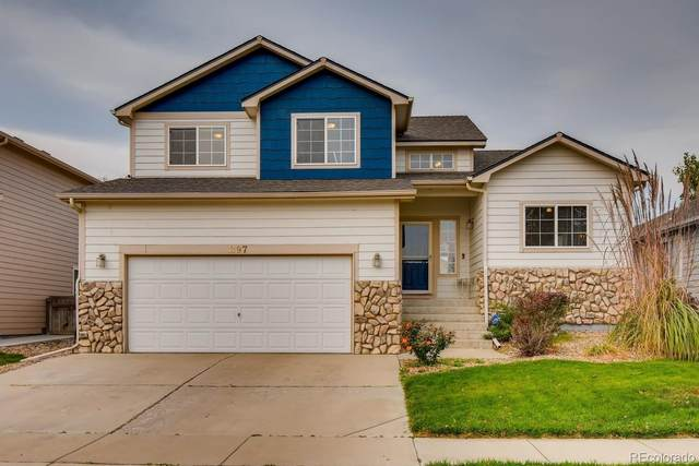 397 Iron Street, Lochbuie, CO 80603 (MLS #5002746) :: The Sam Biller Home Team
