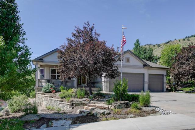 574 Eagle Nest Court, Golden, CO 80401 (#5004244) :: Wisdom Real Estate