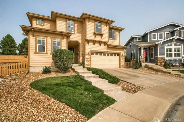 5351 Clovervale Circle, Highlands Ranch, CO 80130 (#5004500) :: Colorado Home Finder Realty
