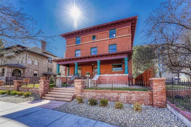 965 N Pennsylvania Street, Denver, CO 80203 (#5007438) :: Re/Max Structure