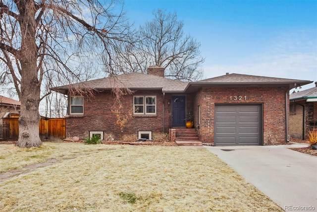 1321 S Jackson Street, Denver, CO 80210 (#5009694) :: HomeSmart
