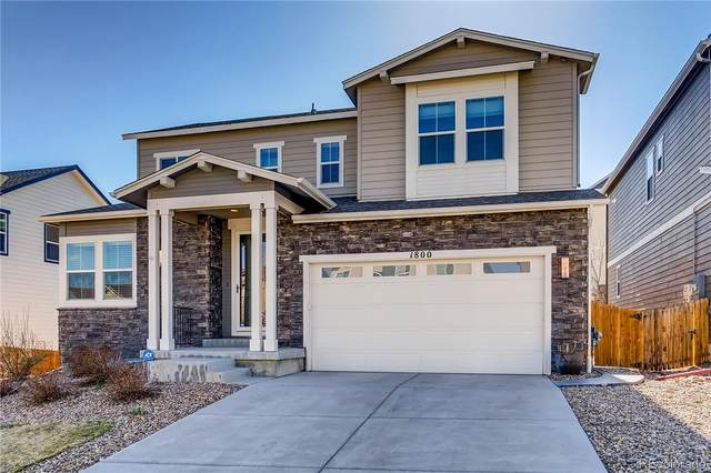 1800 Ghost Dance Circle, Castle Rock, CO 80108 (MLS #5010010) :: The Sam Biller Home Team