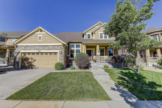 5613 S Coolidge Court, Aurora, CO 80016 (#5012814) :: The Galo Garrido Group