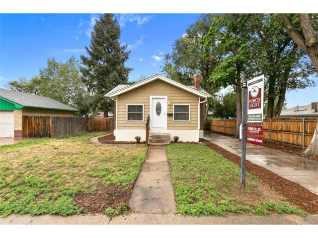 615 W Union Avenue, Englewood, CO 80110 (MLS #5016070) :: 8z Real Estate