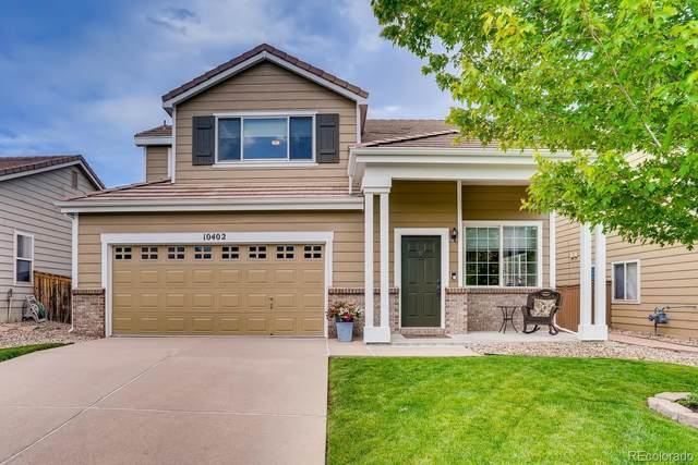 10402 Tracewood Drive, Highlands Ranch, CO 80130 (#5018466) :: Peak Properties Group