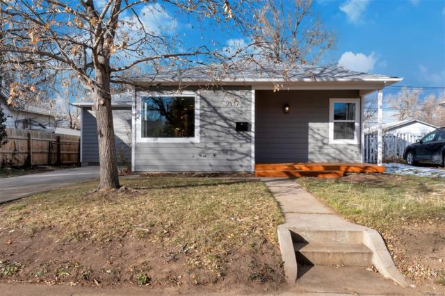 2337 S Williams Street, Denver, CO 80210 (#5020778) :: House Hunters Colorado