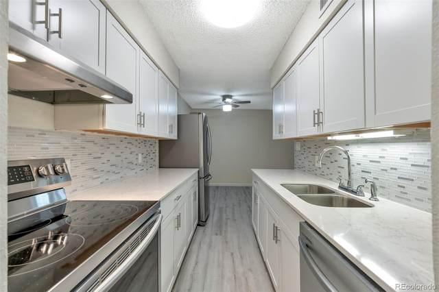 7455 E Quincy Avenue #104, Denver, CO 80237 (#5022450) :: Stephanie Fryncko | Keller Williams Integrity