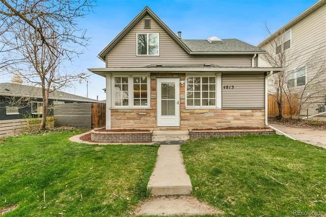 4813 N Stuart Street, Denver, CO 80212 (#5025094) :: My Home Team