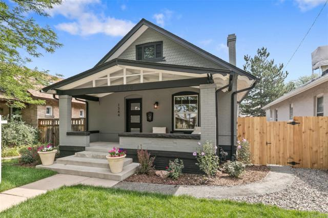 1344 S Lincoln Street, Denver, CO 80210 (#5025210) :: The Peak Properties Group
