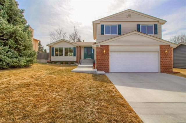 560 Prairie Ridge Road, Highlands Ranch, CO 80126 (MLS #5028372) :: 8z Real Estate