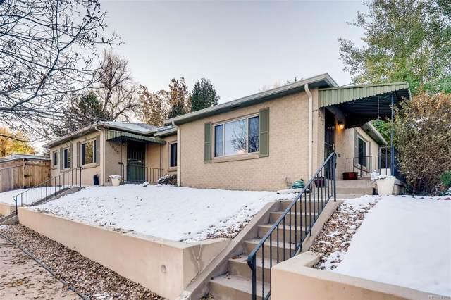 602 S Ogden Street, Denver, CO 80209 (#5029329) :: Mile High Luxury Real Estate