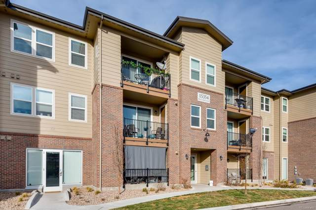15354 W 64th Lane #206, Arvada, CO 80007 (#5030631) :: The Peak Properties Group