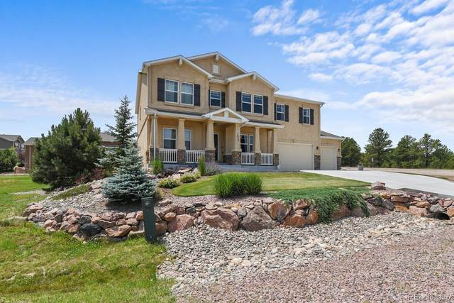 1823 Painter Drive, Monument, CO 80132 (#5039199) :: The FI Team