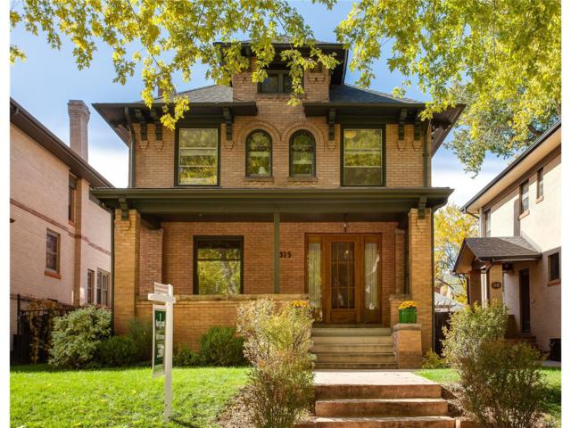 1315 Milwaukee Street, Denver, CO 80206 (#5044075) :: Wisdom Real Estate
