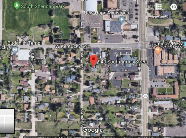 940 S Ames Street, Lakewood, CO 80226 (#5047310) :: The Dixon Group