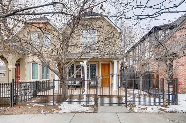 11 S Jackson Street, Denver, CO 80209 (#5047921) :: Bring Home Denver with Keller Williams Downtown Realty LLC