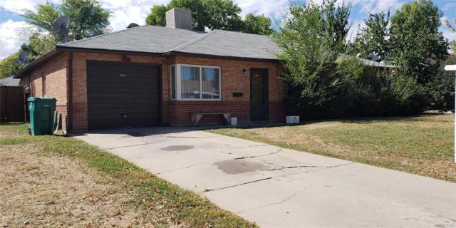 861 Tucson Street, Aurora, CO 80011 (#5047998) :: The DeGrood Team