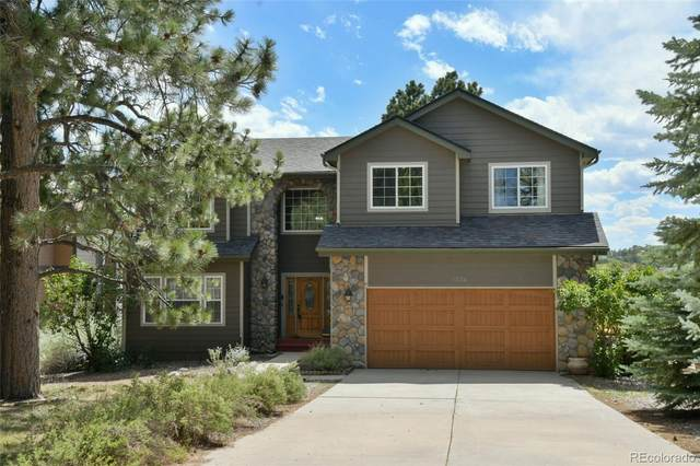 1334 Conifer Trail, Elizabeth, CO 80107 (#5053371) :: The Margolis Team