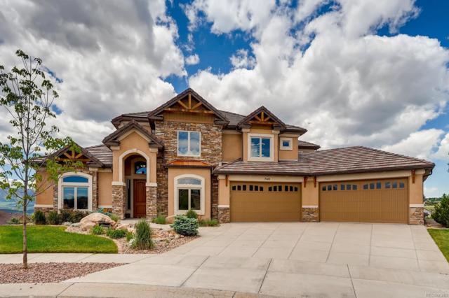 740 Black Arrow Drive, Colorado Springs, CO 80921 (MLS #5055402) :: 8z Real Estate
