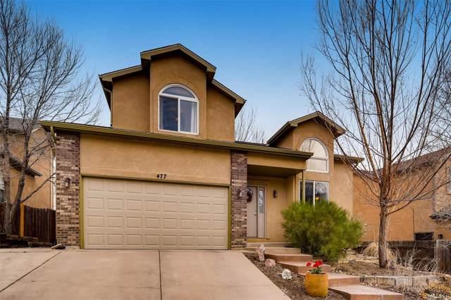 477 Gold Claim Terrace, Colorado Springs, CO 80905 (MLS #5063042) :: 8z Real Estate