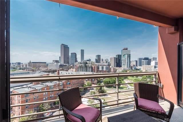 100 Park Avenue #1208, Denver, CO 80205 (#5063084) :: Chateaux Realty Group