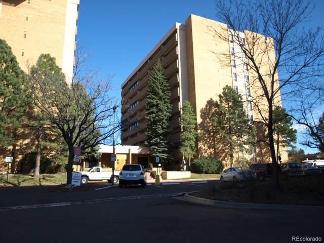 8060 E Girard Avenue #413, Denver, CO 80231 (#5063281) :: The Griffith Home Team