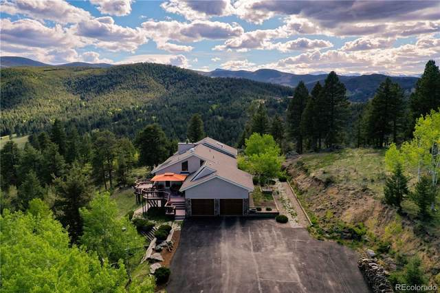 7614 S Blue Creek Road, Evergreen, CO 80439 (#5065333) :: My Home Team