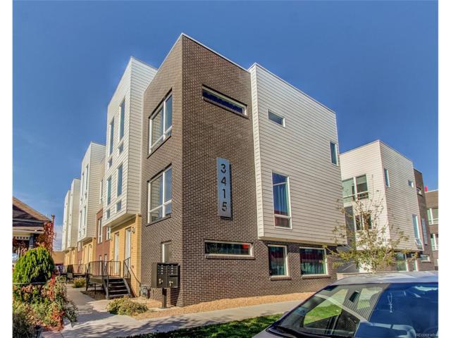 3415 Larimer Street #106, Denver, CO 80205 (MLS #5065478) :: 8z Real Estate