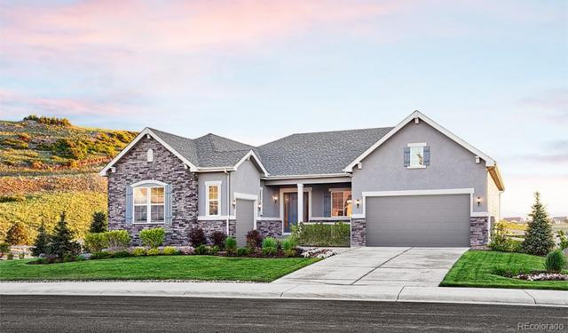 3658 Mighty Oaks Street, Castle Rock, CO 80104 (#5065682) :: The Pete Cook Home Group