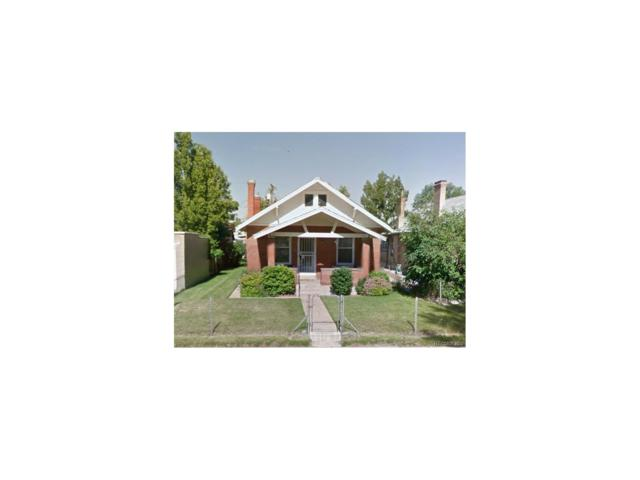 1479 S Washington Street, Denver, CO 80210 (MLS #5066063) :: 8z Real Estate