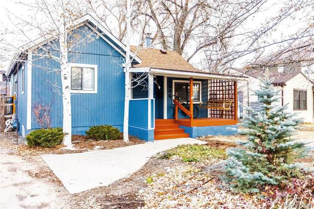 2446 S Williams Street, Denver, CO 80210 (#5070029) :: The Dixon Group