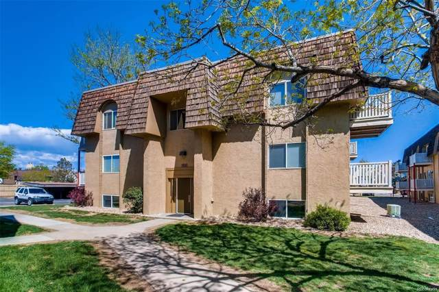 7335 E Quincy Avenue #104, Denver, CO 80237 (MLS #5070336) :: 8z Real Estate