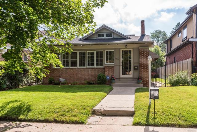 960 S York Street, Denver, CO 80209 (#5074608) :: Sellstate Realty Pros