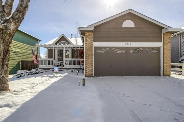 5366 E 130th Place, Thornton, CO 80241 (MLS #5075496) :: Kittle Real Estate