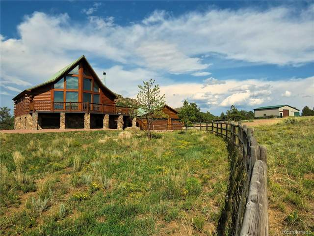 4005 Oak Grove Circle, Westcliffe, CO 81252 (#5078022) :: iHomes Colorado