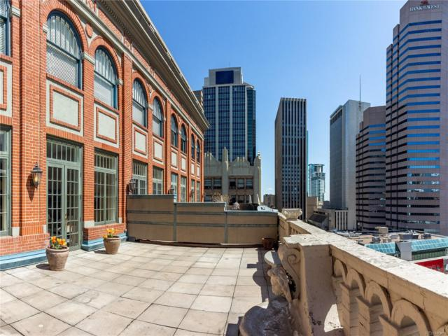1555 California Street #504, Denver, CO 80202 (#5078447) :: The Griffith Home Team