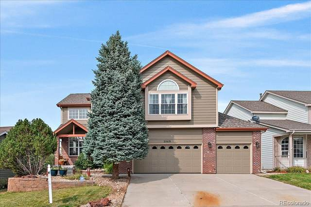 21619 Hill Gail Way, Parker, CO 80138 (MLS #5080620) :: Neuhaus Real Estate, Inc.