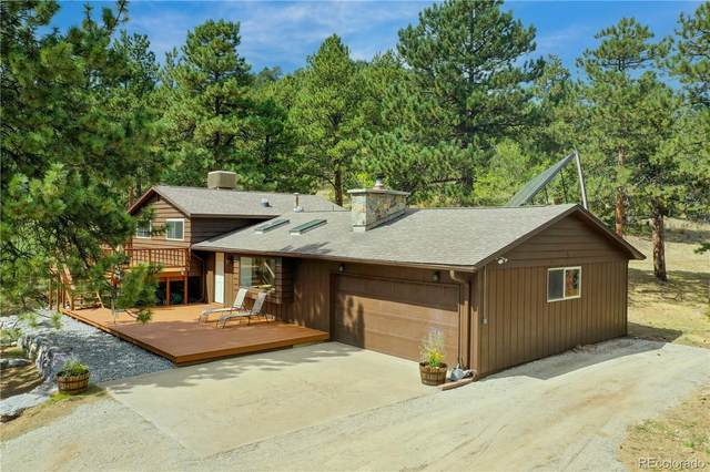 2013 Swede Gulch Road, Evergreen, CO 80439 (MLS #5085205) :: Clare Day with Keller Williams Advantage Realty LLC