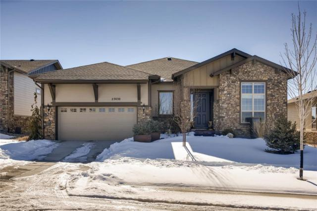 23030 E Del Norte Circle, Aurora, CO 80016 (#5095224) :: The City and Mountains Group