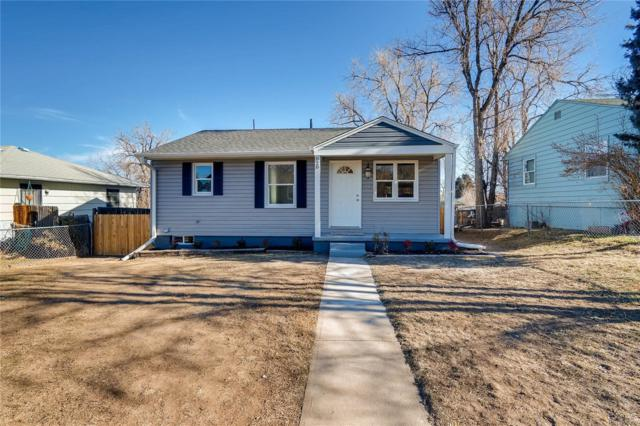 820 Irving Street, Denver, CO 80204 (#5095459) :: The HomeSmiths Team - Keller Williams