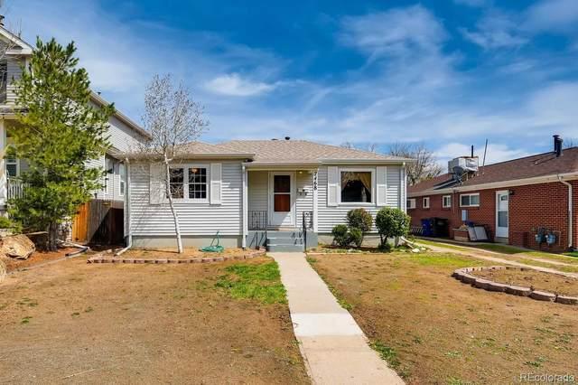 2468 S Marion Street, Denver, CO 80210 (#5097036) :: Venterra Real Estate LLC