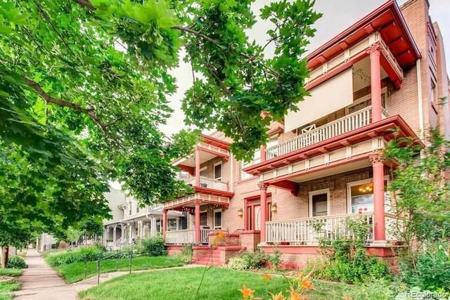 950 N Ogden Street #6, Denver, CO 80218 (#5100636) :: HomeSmart