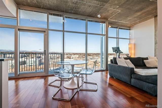 1700 Bassett Street #1414, Denver, CO 80202 (MLS #5102495) :: Neuhaus Real Estate, Inc.