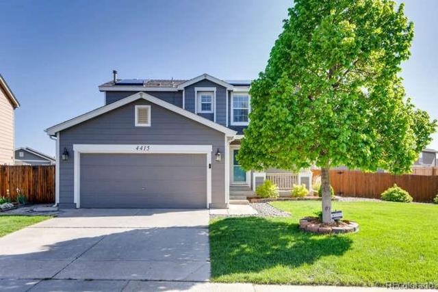 4415 E 94th Place, Thornton, CO 80229 (#5102605) :: The Pete Cook Home Group