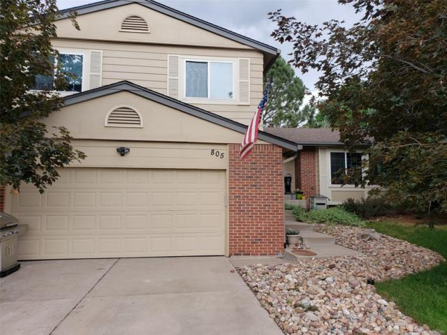 805 Northridge Road, Highlands Ranch, CO 80126 (#5103612) :: The Dixon Group