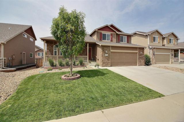 446 Homestead Lane, Johnstown, CO 80534 (#5103792) :: The Peak Properties Group